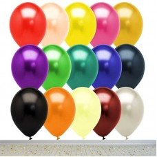 Metalik Balon 30cm 12 inch Helyum Quality 131101