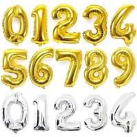 "Folyo Rakam Balon 100cm 40"" inch Helium Baloon 131105"